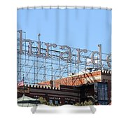 Ghirardelli Chocolate Factory San Francisco California . 7d13979 Shower Curtain by Wingsdomain Art and Photography