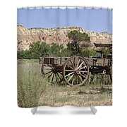 Ghost Ranch Shower Curtain by Mary Rogers