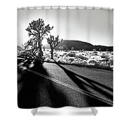 Ghouls Shower Curtain by Laurie Search