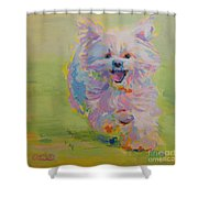 Gigi Shower Curtain by Kimberly Santini
