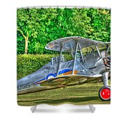 Gloster Gladiator 1938 Shower Curtain by Chris Thaxter