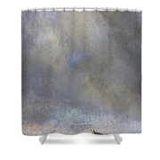Going To Barn Shower Curtain by Ron Jones