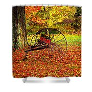 Gone With The Wind Shower Curtain by Diane E Berry