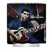 Graceland Tribute To Paul Simon Shower Curtain by Seth Weaver