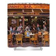 Grand Bar Shower Curtain by Guido Borelli