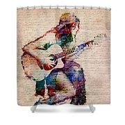 Gypsy Serenade Shower Curtain by Nikki Smith