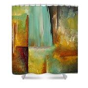 Haphazardous By Madart Shower Curtain by Megan Duncanson
