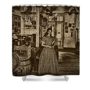 Harpers Ferry General Store Shower Curtain by Bill Cannon
