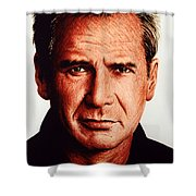 Harrison Ford Shower Curtain by Andrew Read