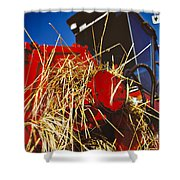 Harvesting Shower Curtain by Meirion Matthias