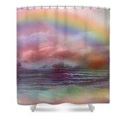 Healing Ocean Shower Curtain by Carol Cavalaris