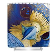 Heaven And Earth Shower Curtain by Brian  Commerford