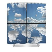 Heaven Shower Curtain by James W Johnson