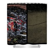 Hell Shower Curtain by James W Johnson