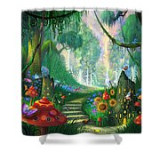 Hidden Treasure Shower Curtain by Philip Straub