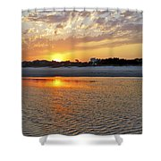 Hilton Head Beach Shower Curtain by Phill Doherty