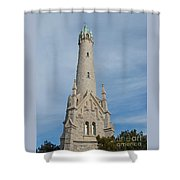 Historic Milwaukee Water Tower Shower Curtain by Ann Horn