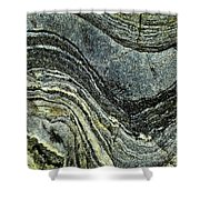 History Of Earth 8 Shower Curtain by Heiko Koehrer-Wagner