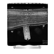 Holding Time - 2 Shower Curtain by Linda Knorr Shafer