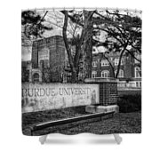 Home Of The Boilers Shower Curtain by Coby Cooper