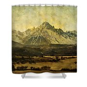 Home Series - The Grandeur Shower Curtain by Brett Pfister