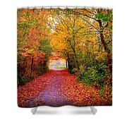 Hope Shower Curtain by Jacky Gerritsen