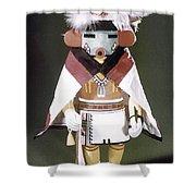 Hopi Kachina Doll Shower Curtain by Granger