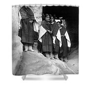Hopi Maidens, 1906 Shower Curtain by Granger