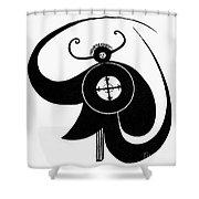 HOPI SKY GOD Shower Curtain by Granger