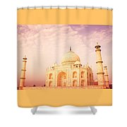 Hot Taj Mahal Shower Curtain by Nila Newsom