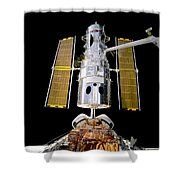 Hubble Telescope Redeployment Shower Curtain by The  Vault - Jennifer Rondinelli Reilly