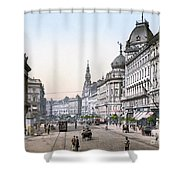 Hungary: Budapest, C1895 Shower Curtain by Granger