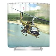Hunter Hueys Shower Curtain by Marc Stewart