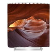 Hypnotized  Shower Curtain by Peter Coskun