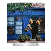 I Cappelli Gialli Shower Curtain by Guido Borelli