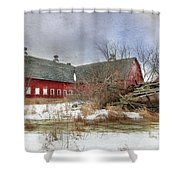 I Fall To Pieces Shower Curtain by Lori Deiter