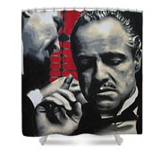 I Want You To Kill Him 2013 Shower Curtain by Luis Ludzska