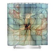 In Dreams Shower Curtain by Amanda Moore