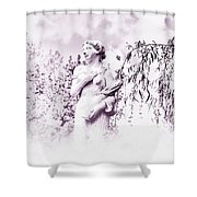 In The Mist Shower Curtain by Bill Cannon