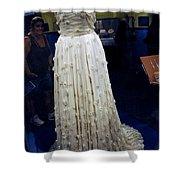 Inaugural gown on display Shower Curtain by LeeAnn McLaneGoetz McLaneGoetzStudioLLCcom