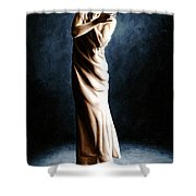Intense Ballerina Shower Curtain by Richard Young