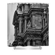 It's In The Details - Philadelphia City Hall Shower Curtain by Bill Cannon
