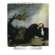 Jacobs Dream Shower Curtain by Jusepe de Ribera