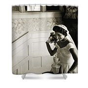 JACQUELINE KENNEDY Shower Curtain by Granger