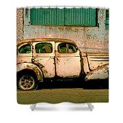 Jalopy Shower Curtain by Skip Hunt