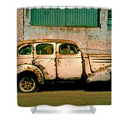 Jalopy Shower Curtain by Skip Hunt