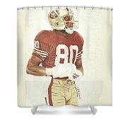 Jerry Shower Curtain by Darren  Chilton