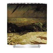 Jerusalem Shower Curtain by Jean Leon Gerome