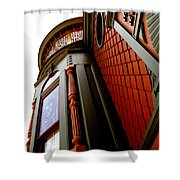 Jesse's Home Shower Curtain by Linda Shafer