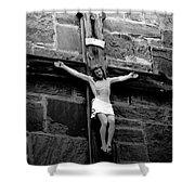 Jesus Christ Shower Curtain by David Lee Thompson